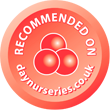 recommeded on daynurseries.co.uk
